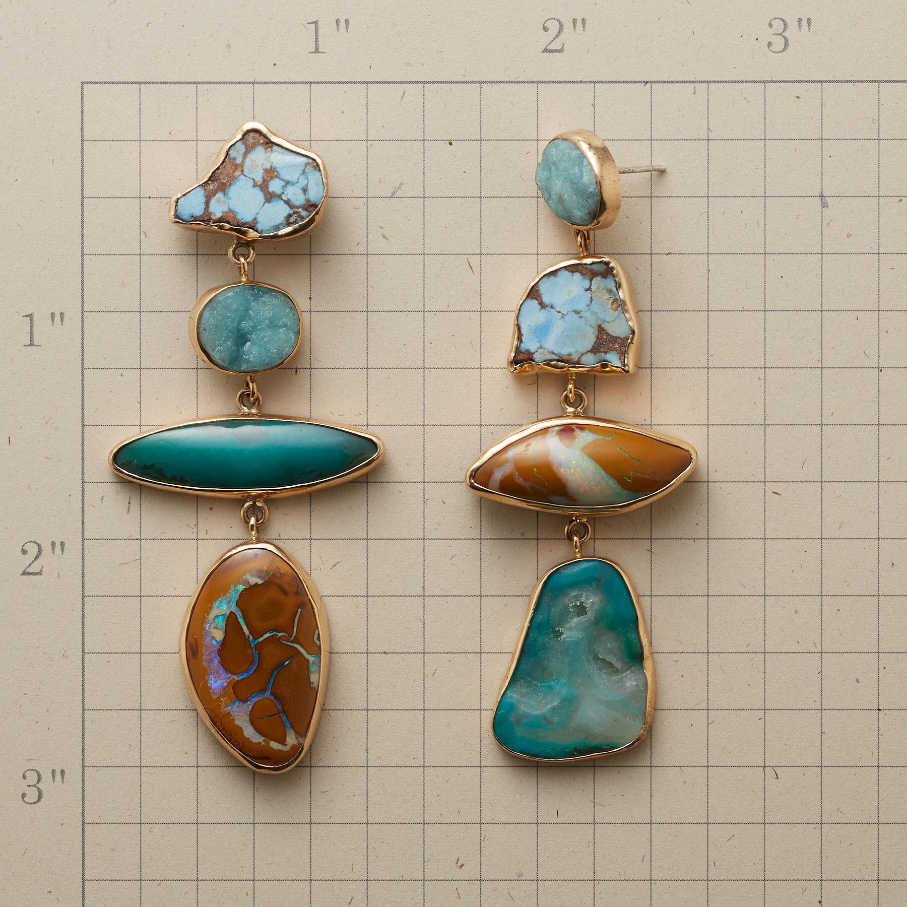 FREE AS THE BREEZE EARRINGS: View 2