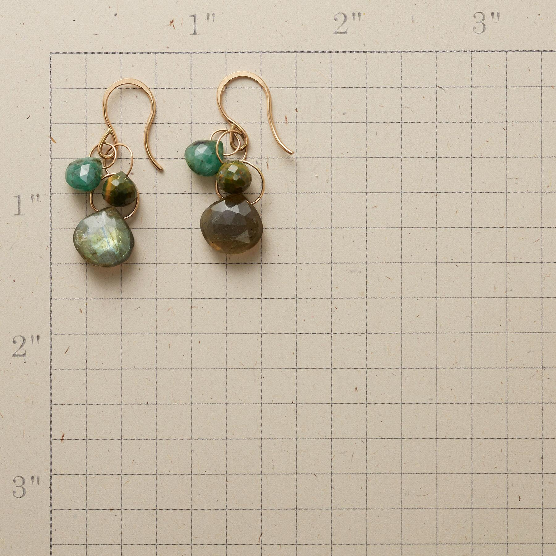 THREE OF HEARTS EARRINGS: View 2
