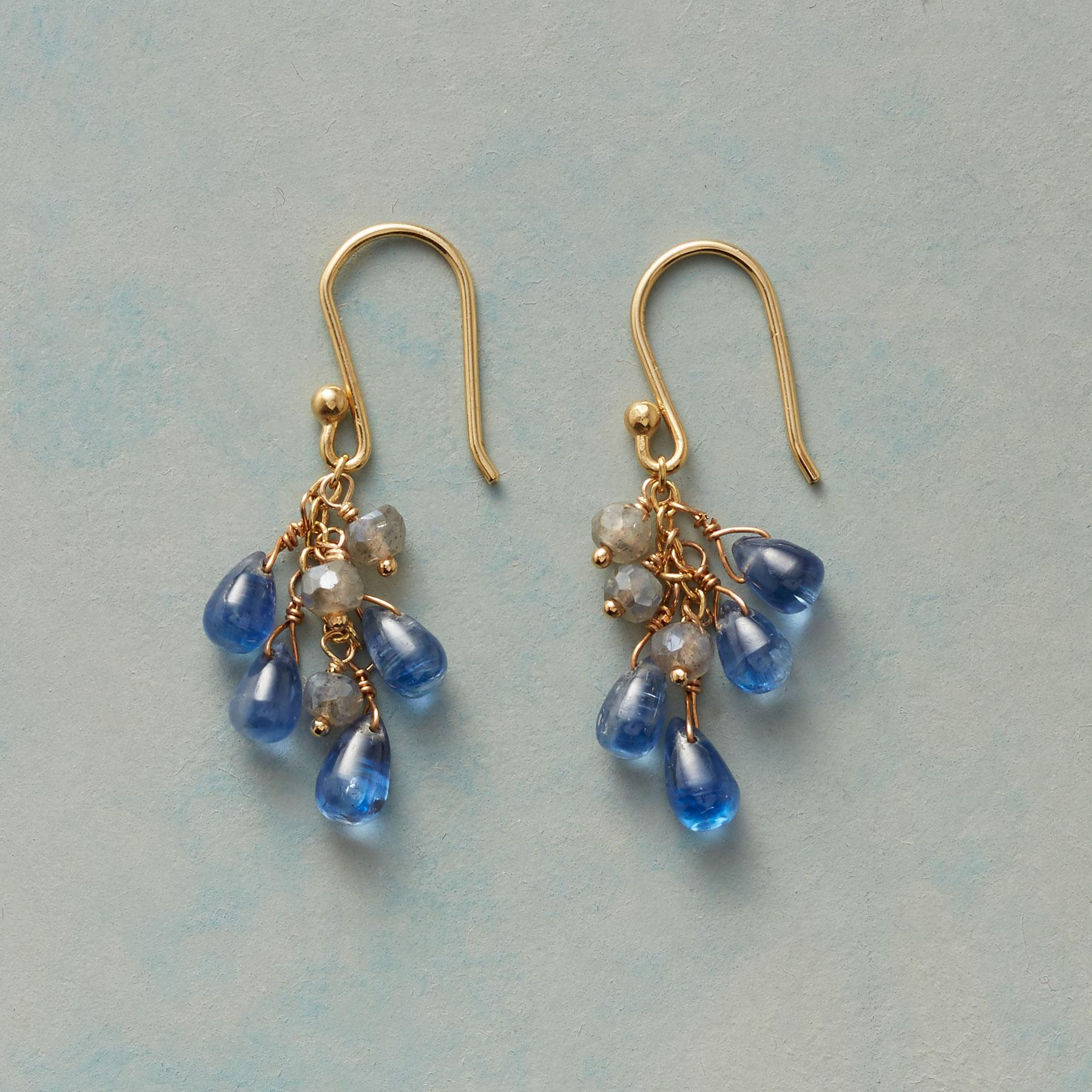 BLUE SKIES AND CLOUDS EARRINGS: View 1
