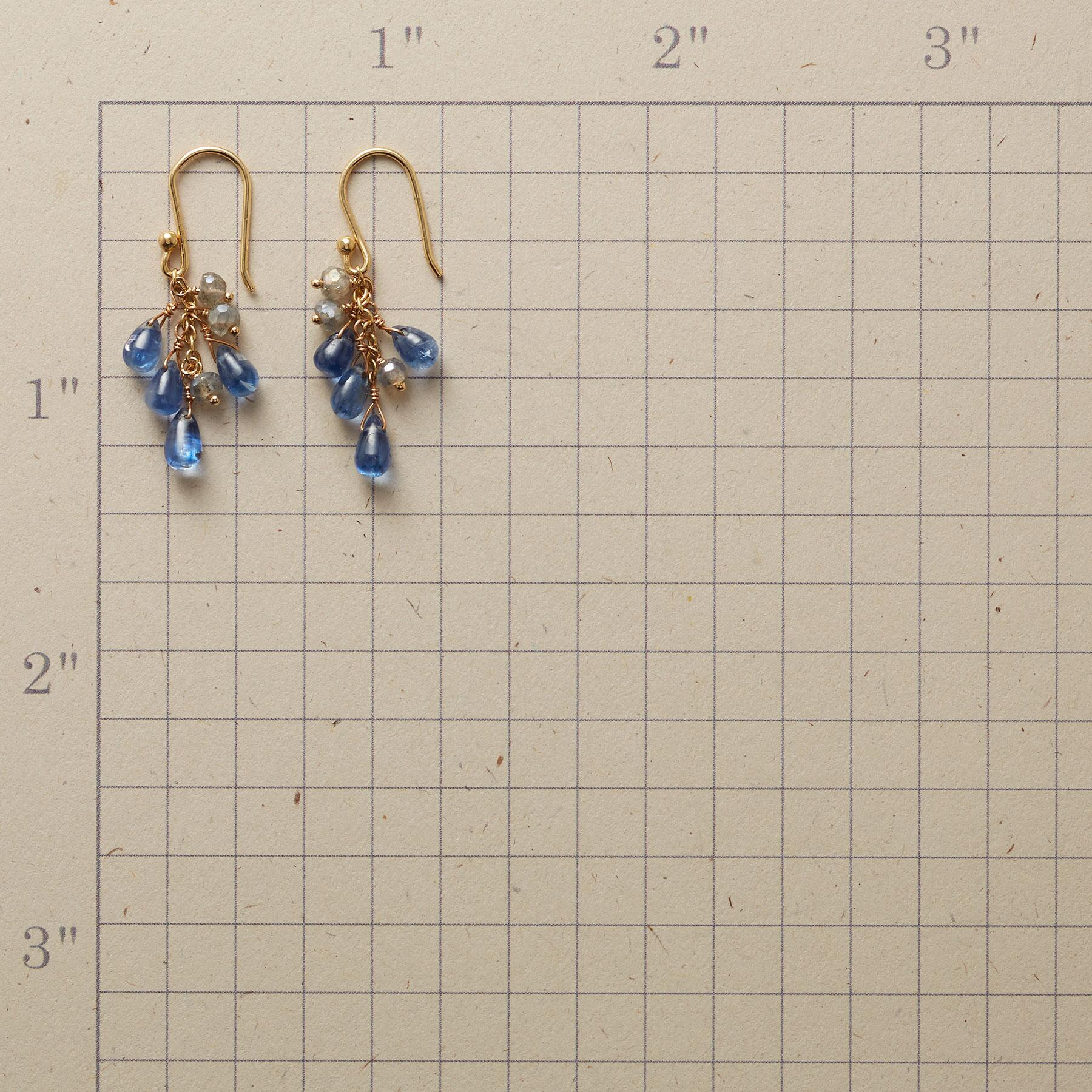 BLUE SKIES AND CLOUDS EARRINGS: View 2