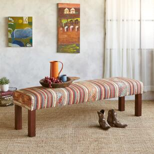 NAZILLI TURKISH KILIM BENCH