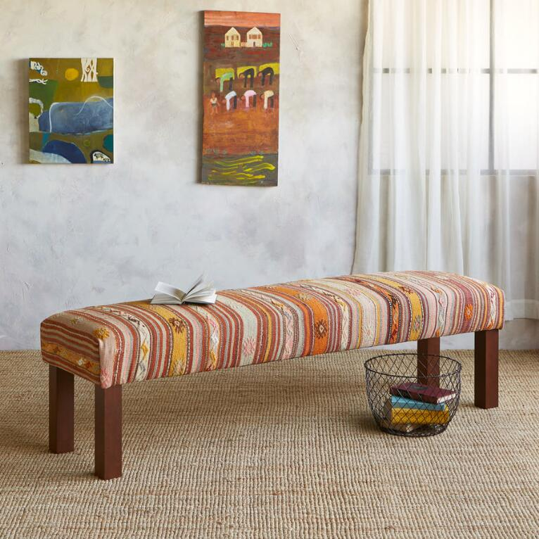 ARAS TURKISH KILIM BENCH