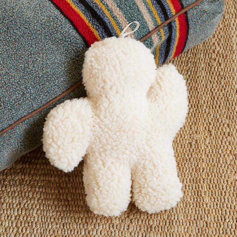 TEDDY FLEECE DOG TOY