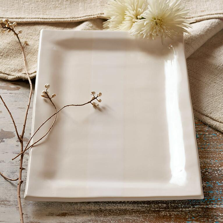 ALEX MARSHALL ORGANIC RECTANGLE SERVING PLATTER
