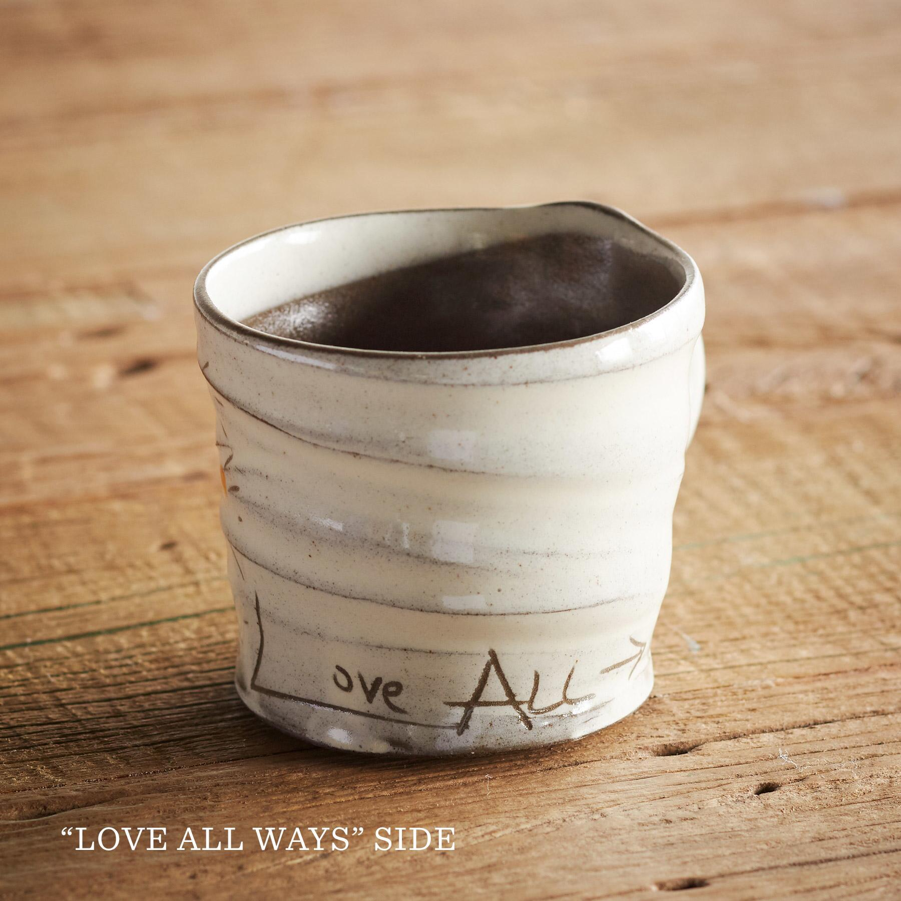 SENTIMENT LOVE IS IN THE AIR MUG: View 4