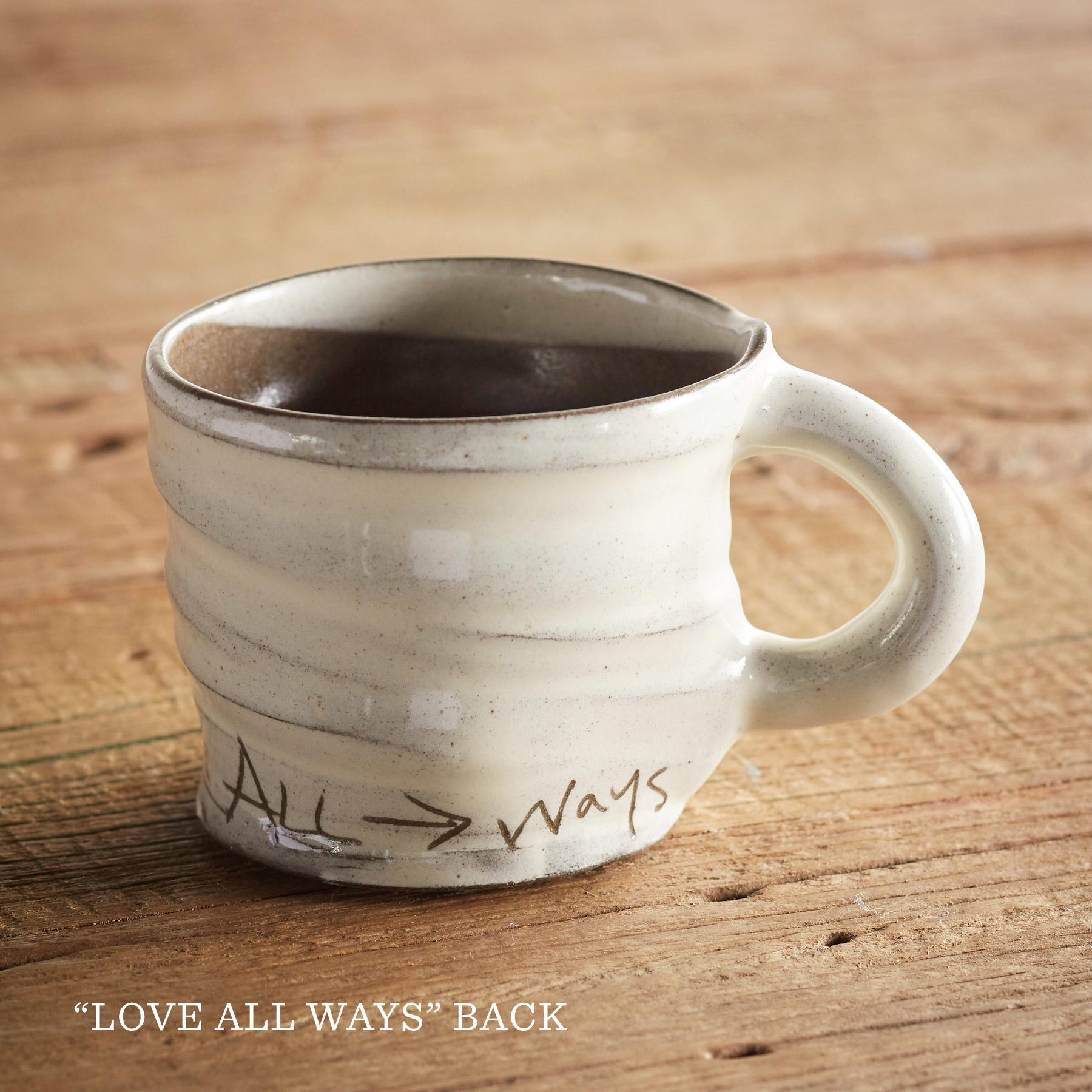 SENTIMENT LOVE IS IN THE AIR MUG: View 5