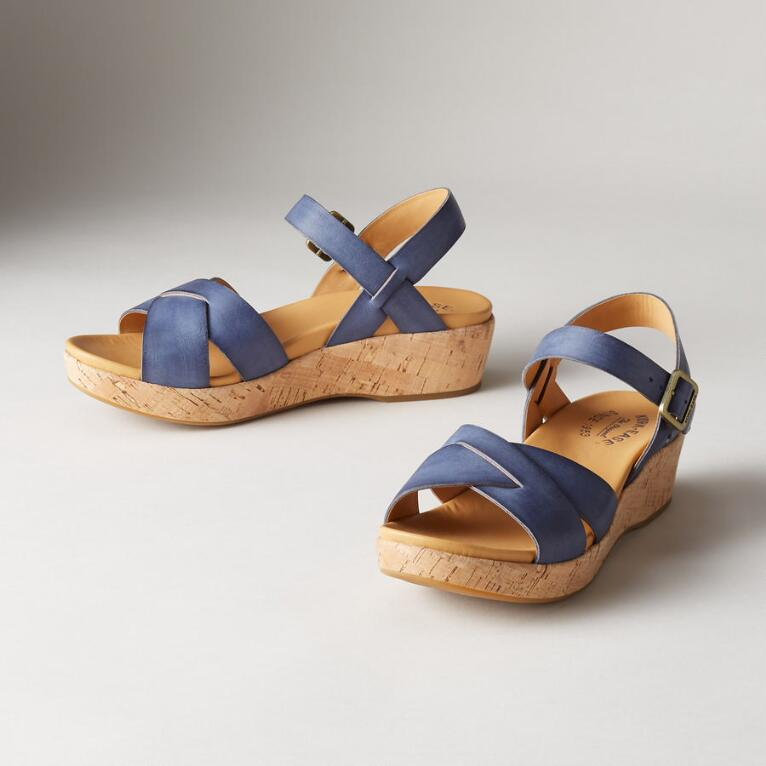 MYRNA LEATHER SANDALS