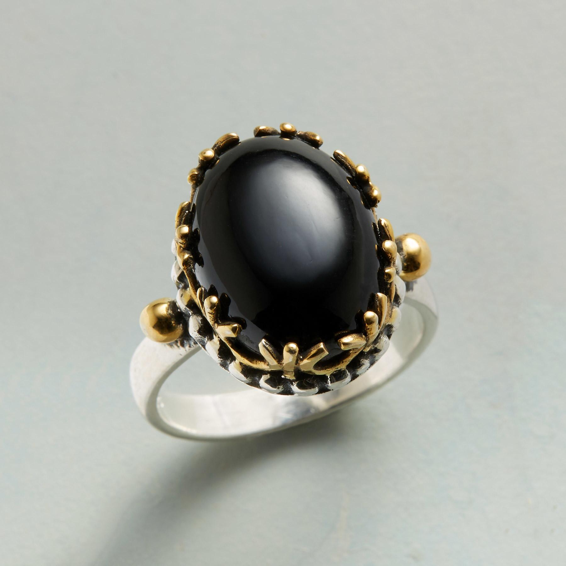 QUEEN OF THE NIGHT RING: View 1