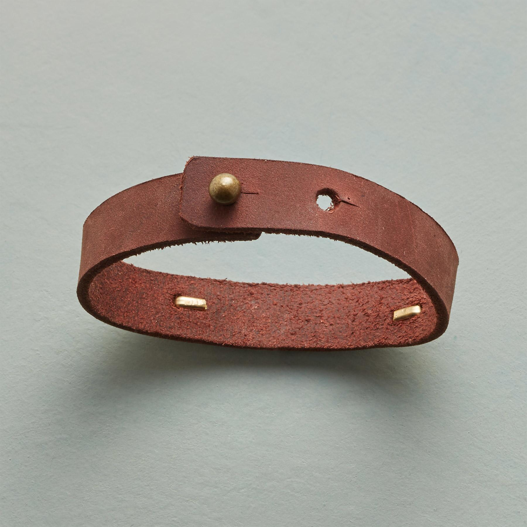 GOLDEN PATH LEATHER BRACELET: View 2