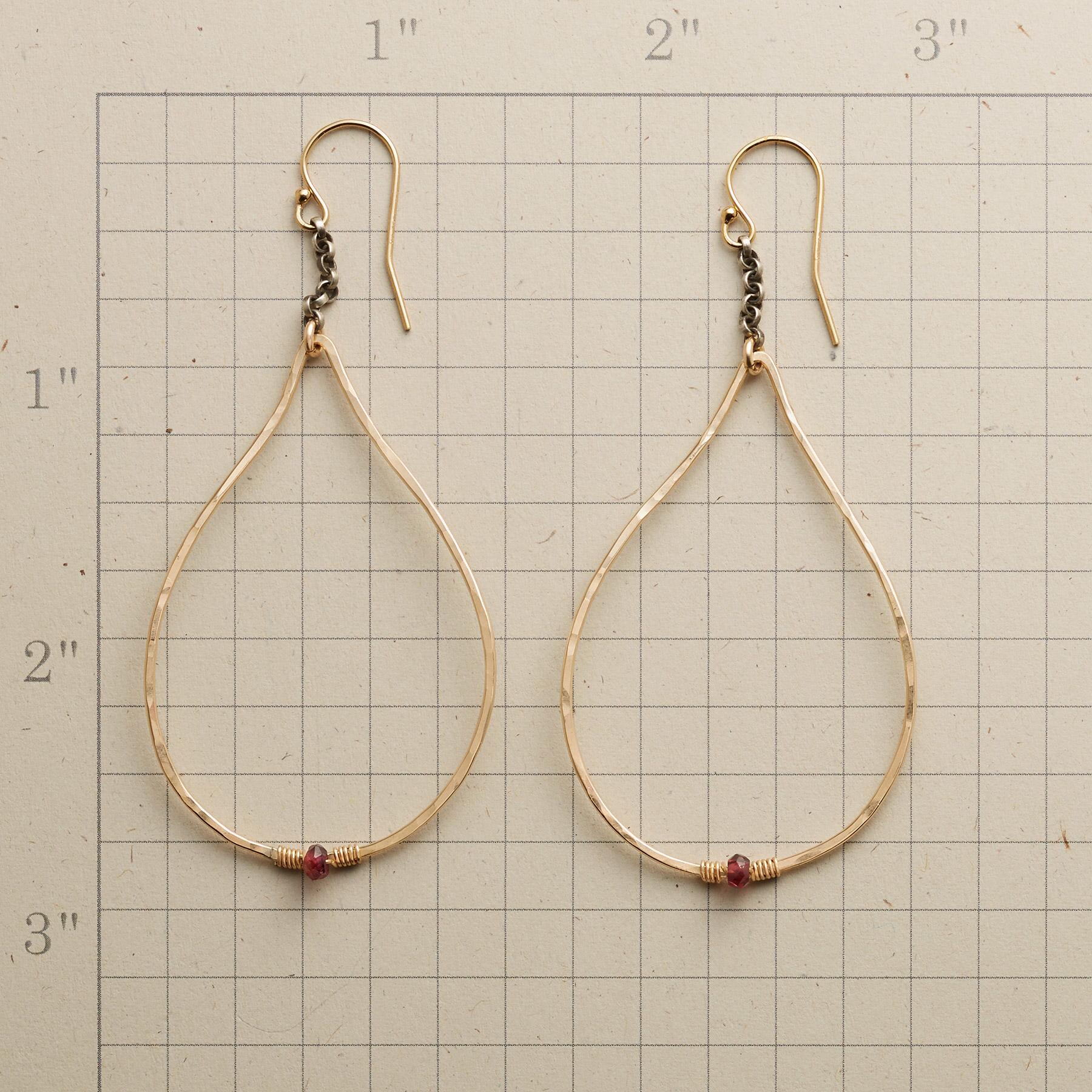 TINY FLAME EARRINGS: View 2
