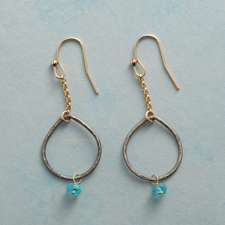 APATITE EXCLAMATION EARRINGS