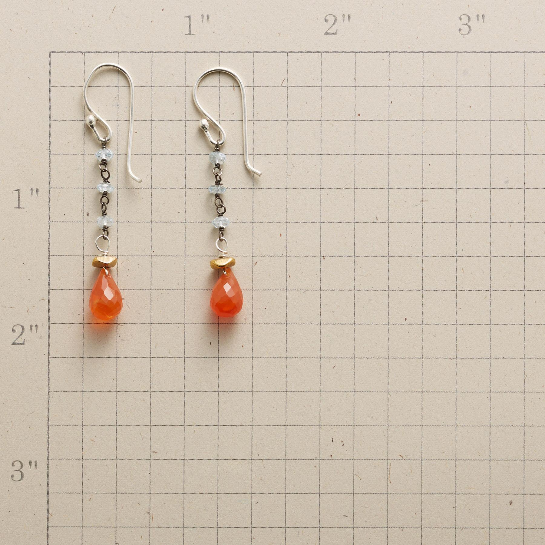 AQUA'S END EARRINGS: View 2