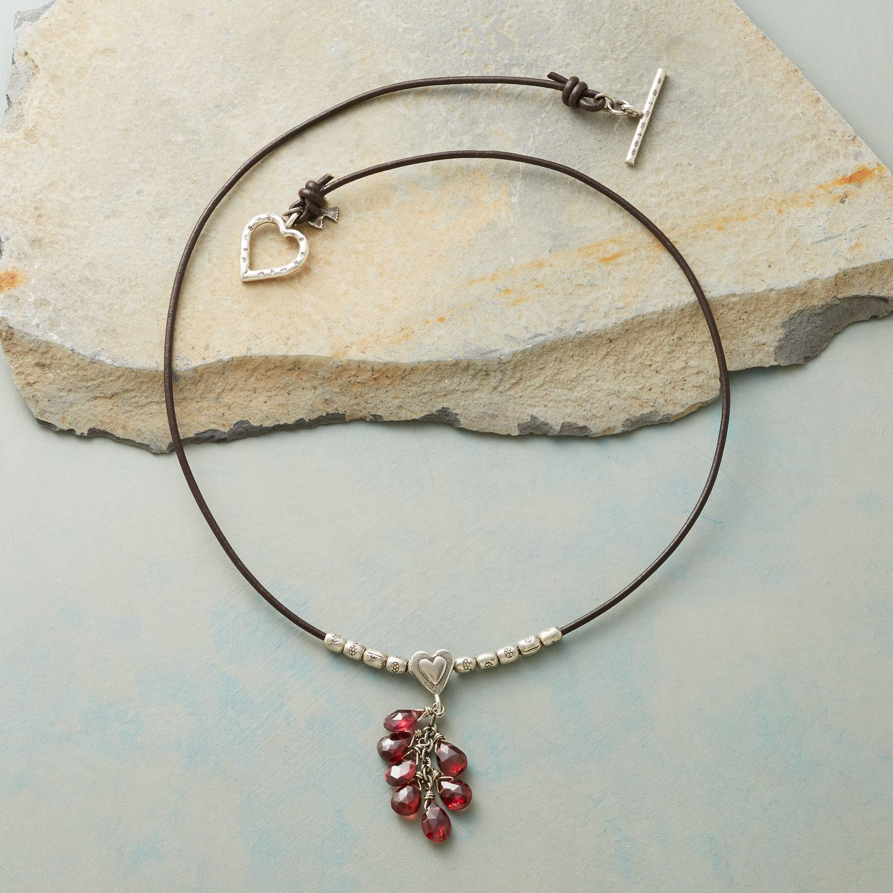 LOVING GARNETS NECKLACE: View 2