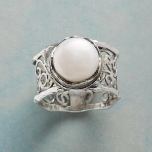 GARDEN GATE PEARL RING