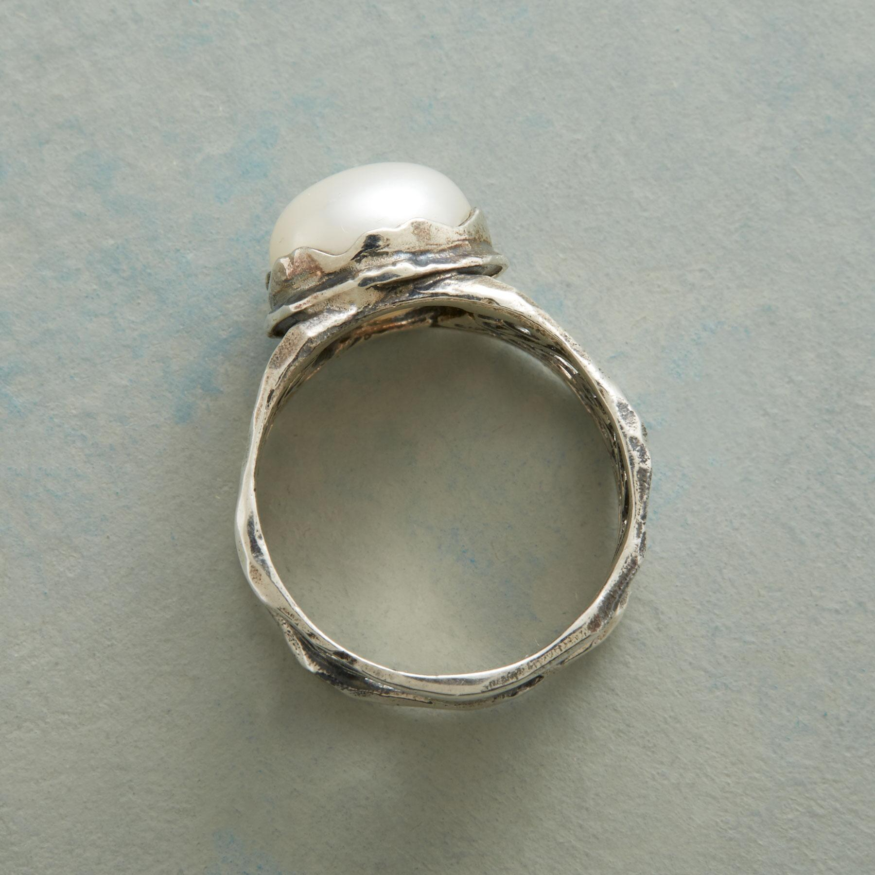 GARDEN GATE PEARL RING: View 2