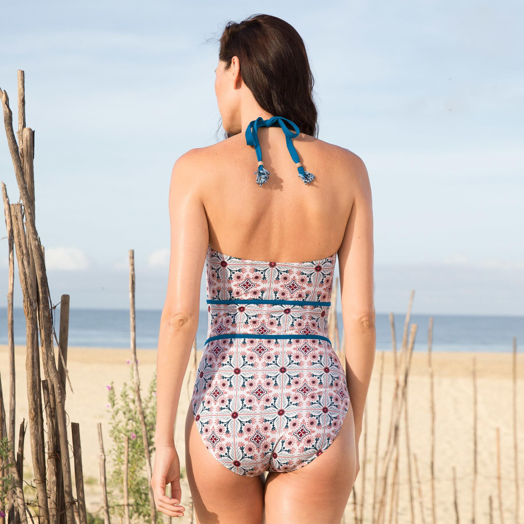 ACACIA BLOOM SWIMSUIT: View 2