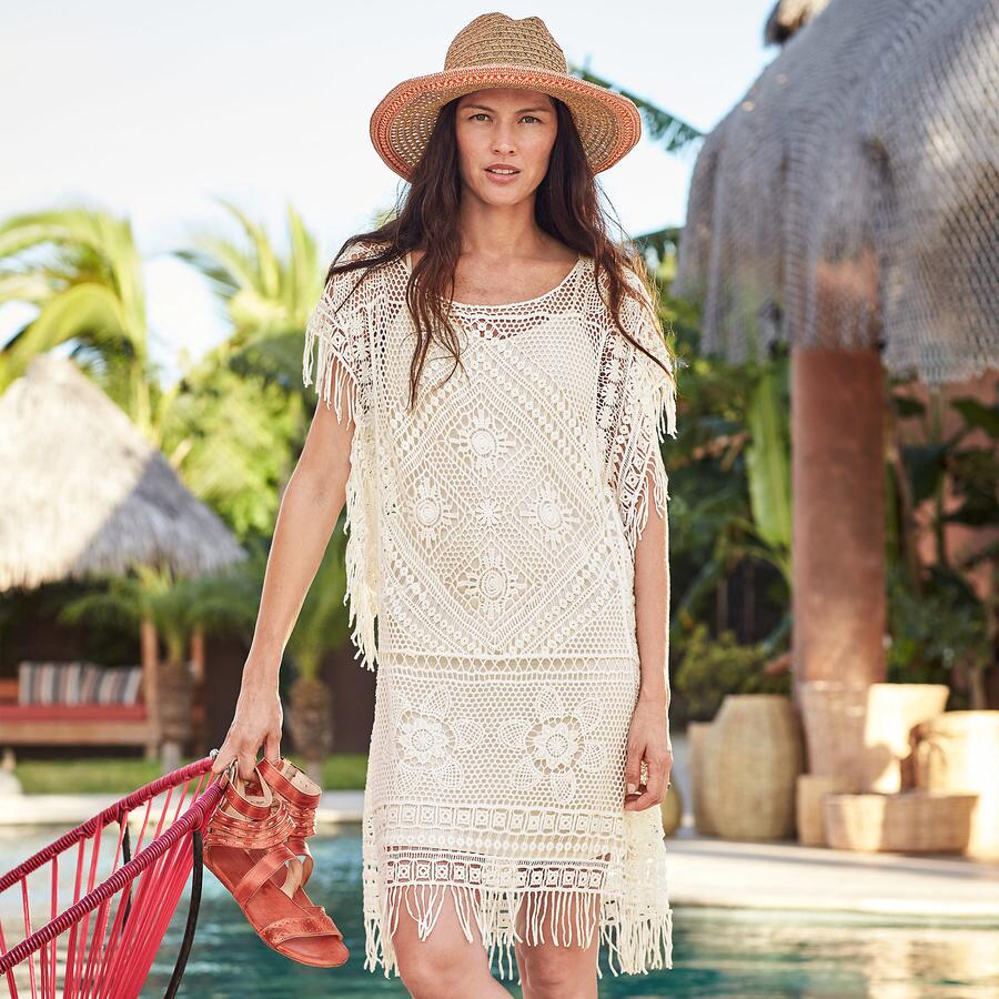 AVARONA LACE COVER-UP