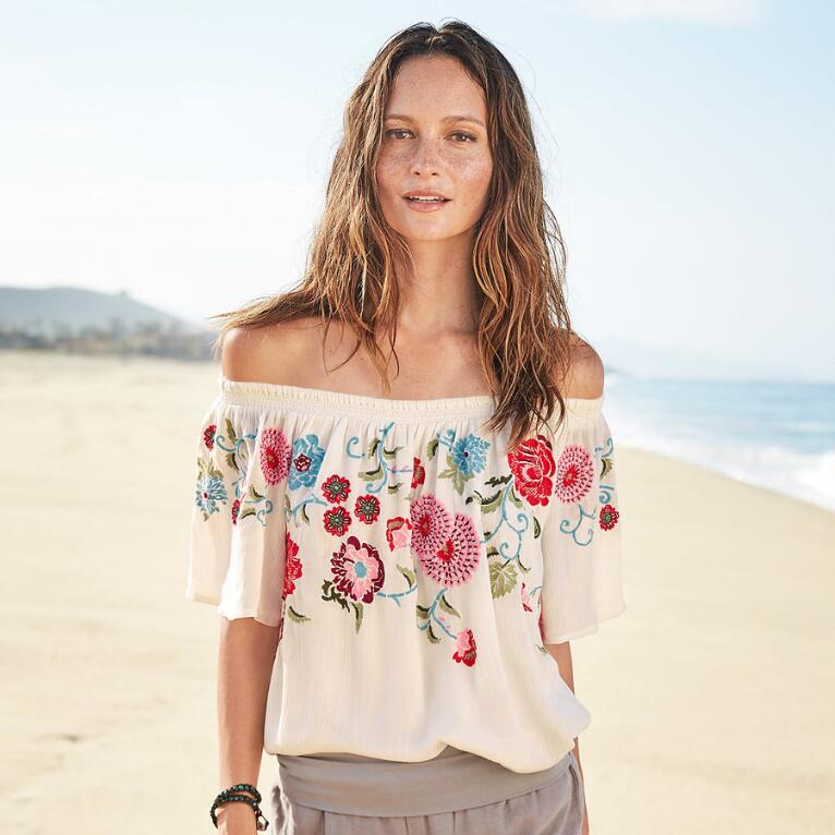 ZINNIA BLOOM TOP