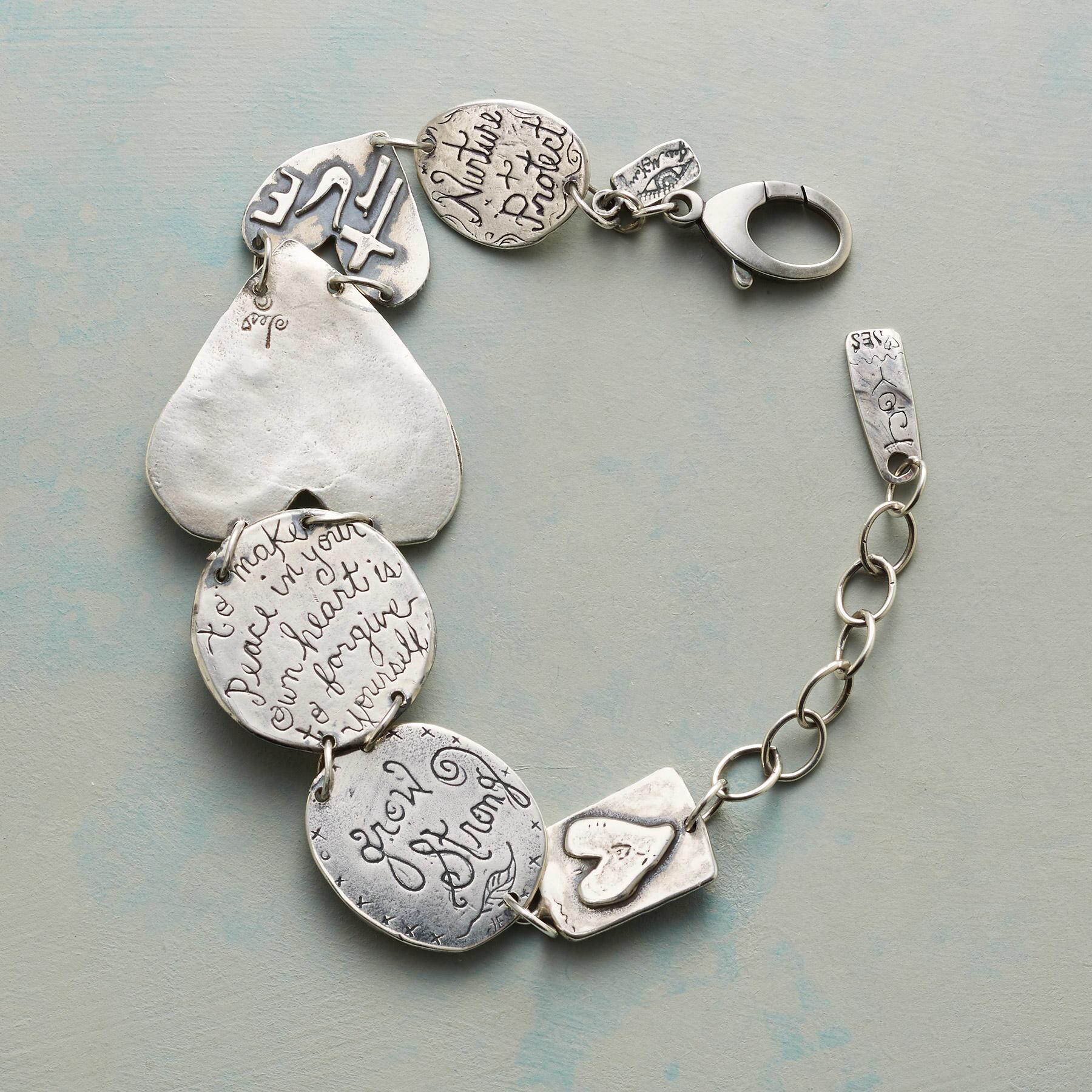 LIFE OF LOVE CHARM BRACELET: View 2