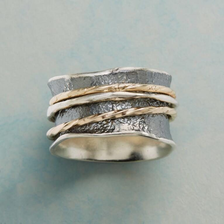 DIFFERENT PATHS SPINNER RING