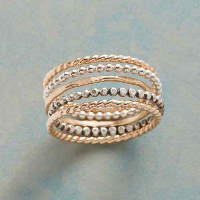 SCATTER OR STACK RING SET