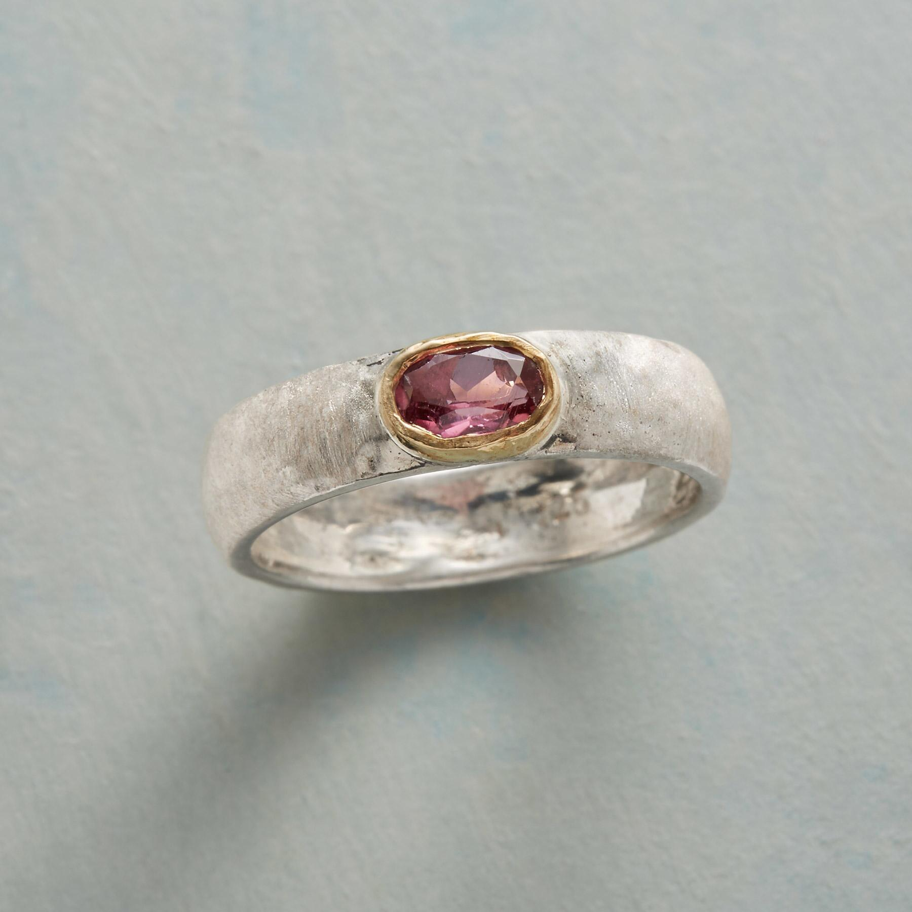 STRAWBERRY MOON RING: View 1