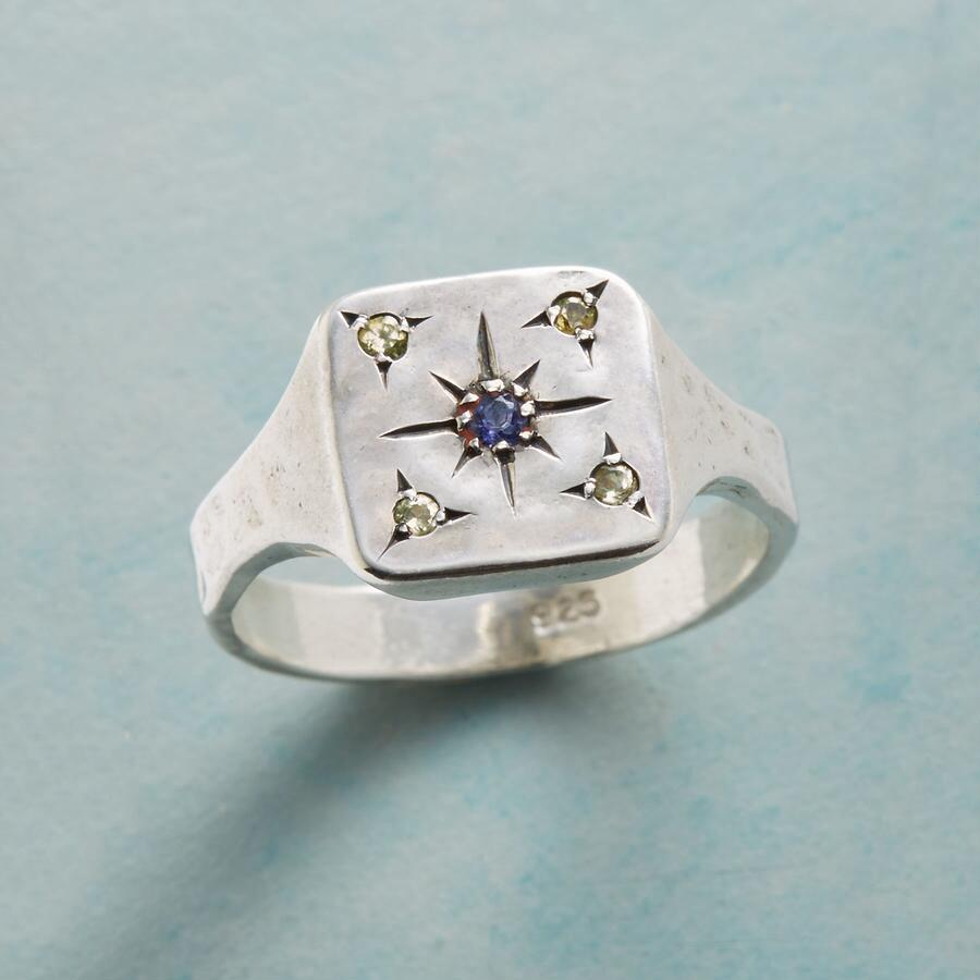 STAR OF AMETHYST RING
