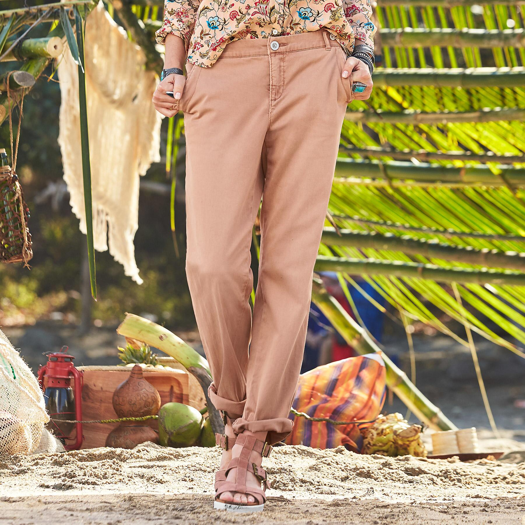 ALWAYS IN STYLE CHINOS PETITE: View 1