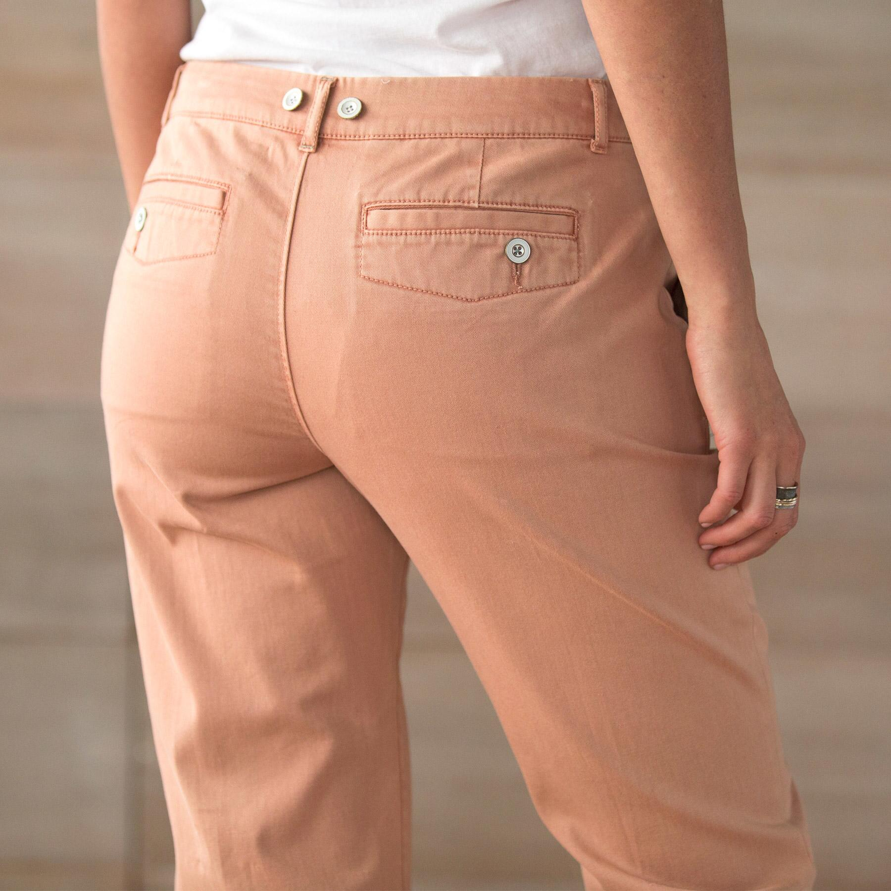 ALWAYS IN STYLE CHINOS PETITE: View 3