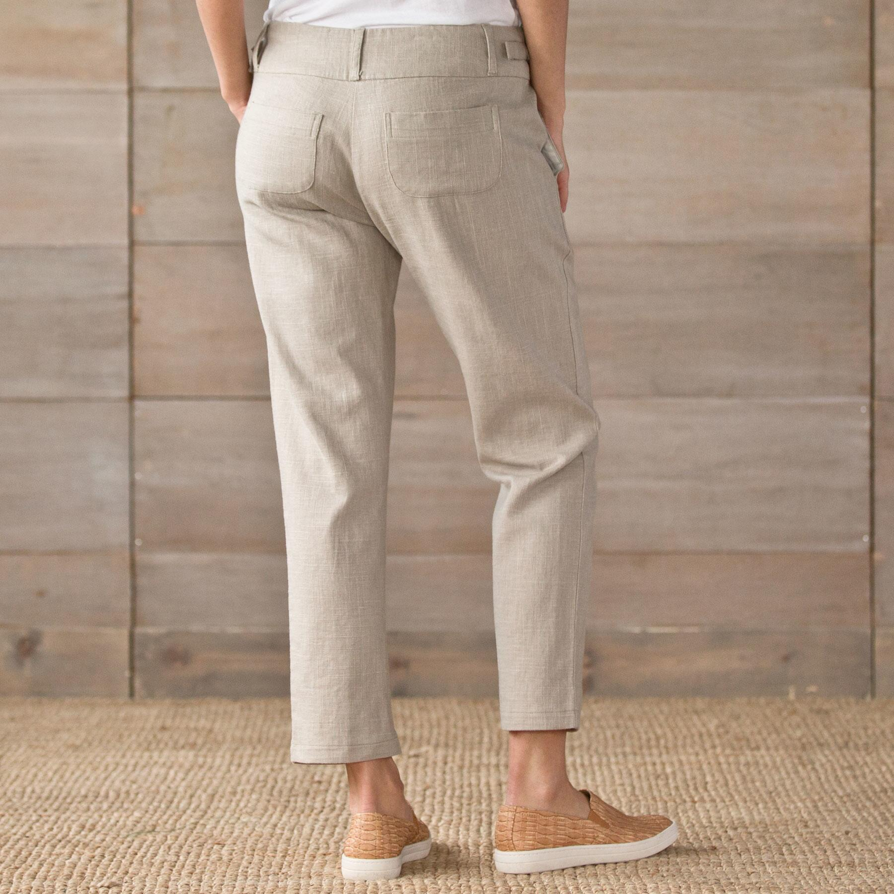 LIGHT STEP LINEN PANTS PETITE: View 2
