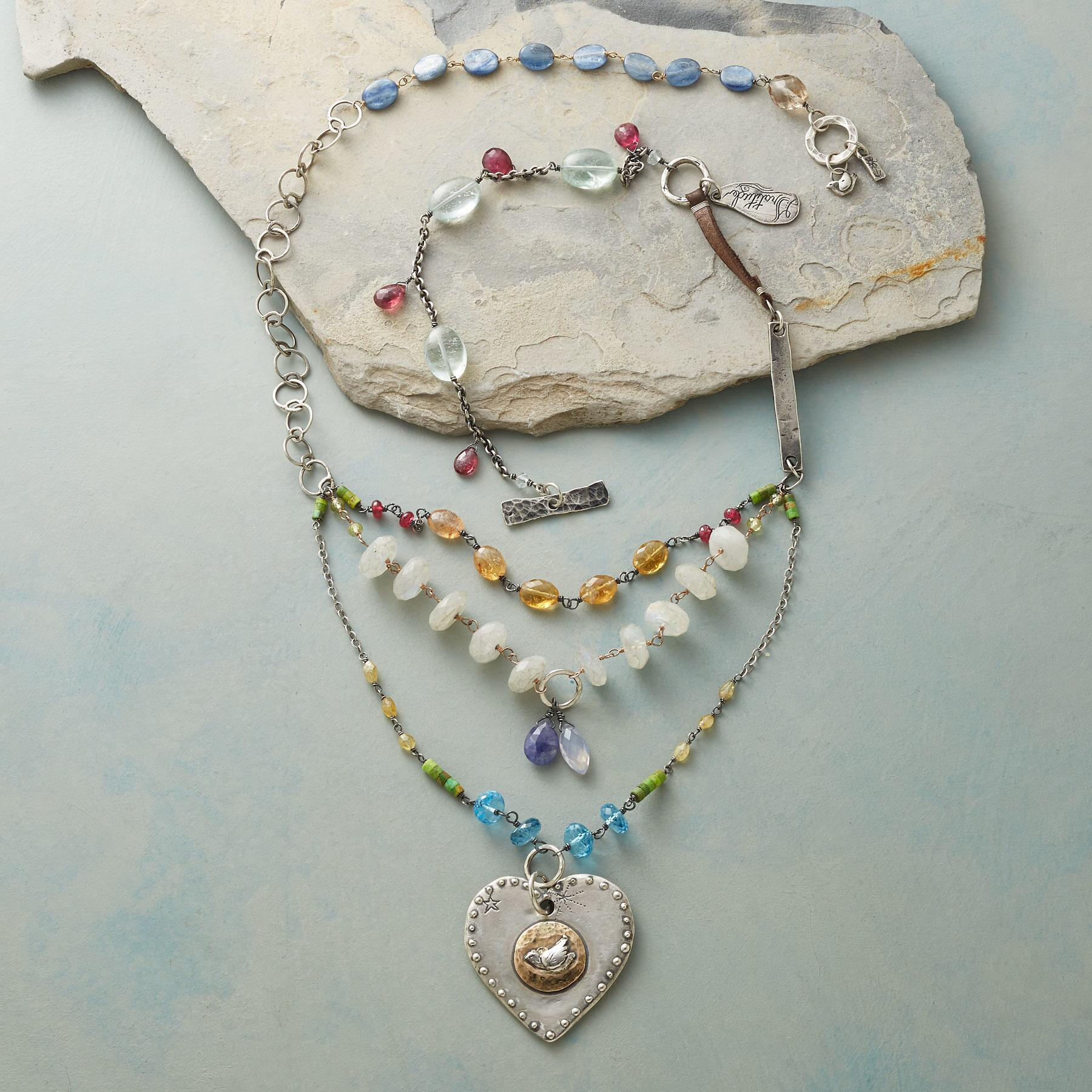 HEART OF PEACE NECKLACE: View 2