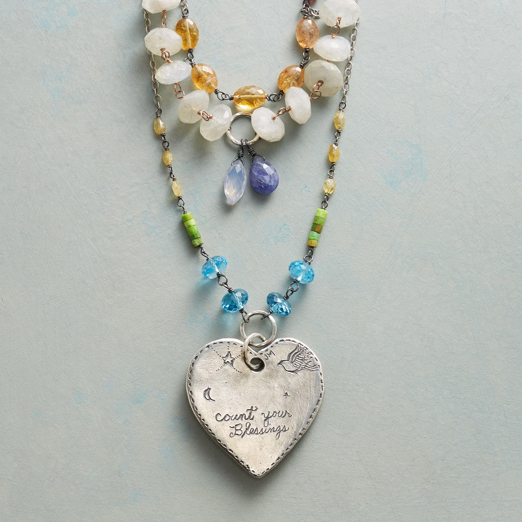 HEART OF PEACE NECKLACE: View 3