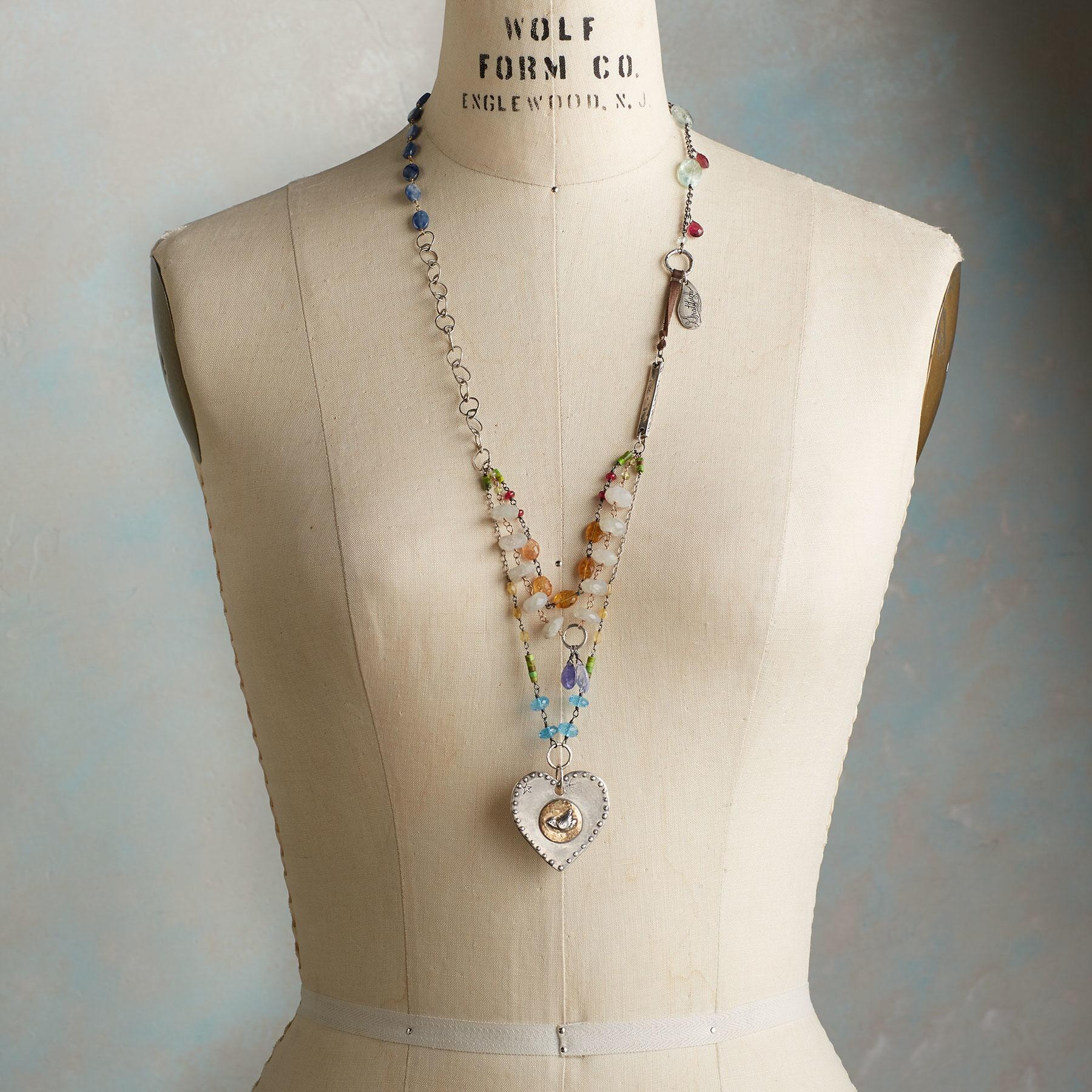 HEART OF PEACE NECKLACE: View 6