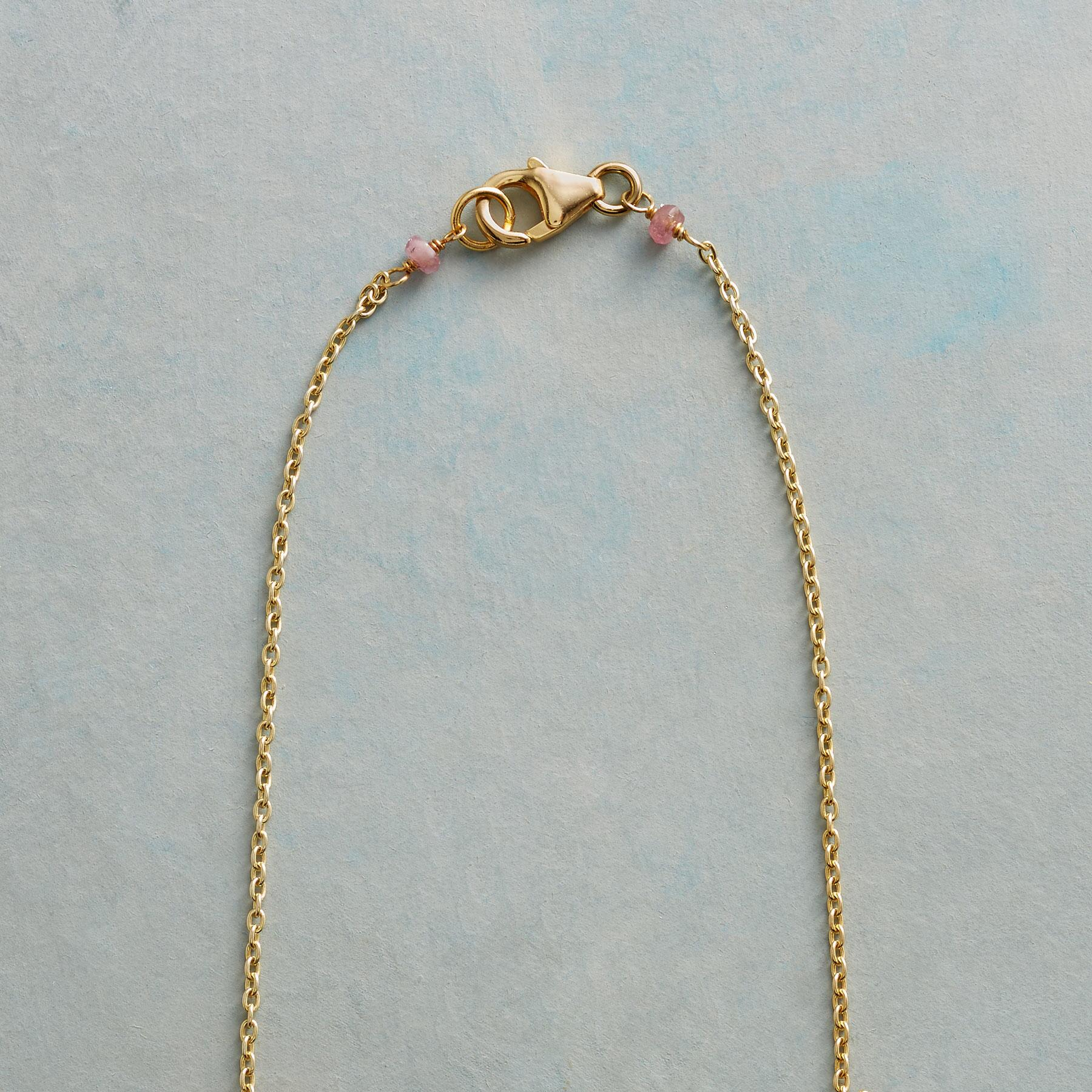 BLUSHING MOONSTONE NECKLACE: View 3