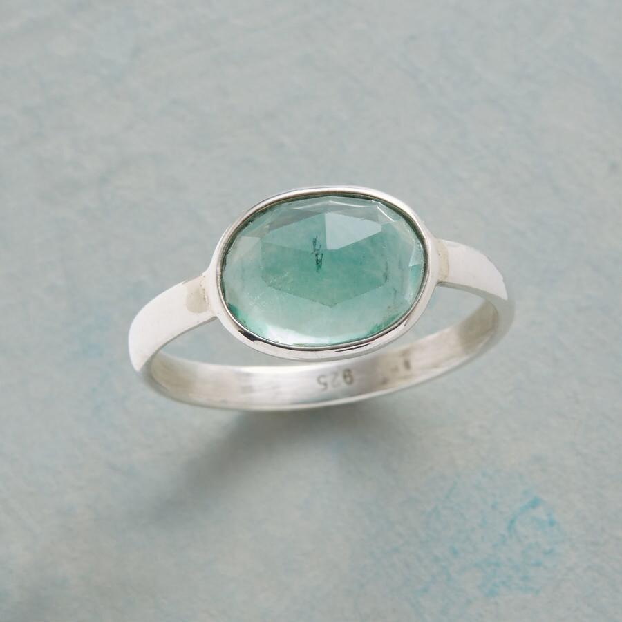 THROUGH VIEW APATITE RING
