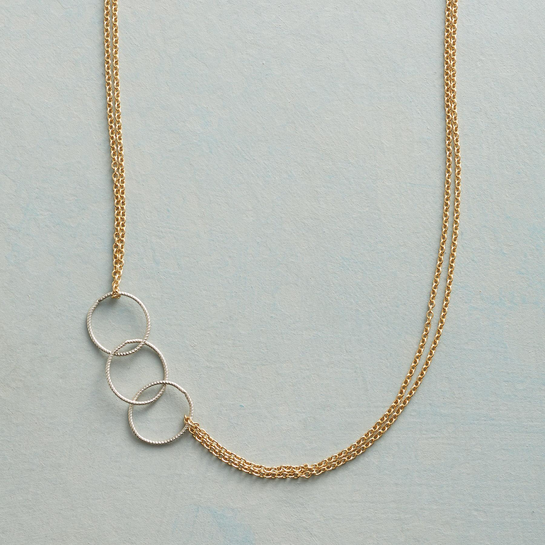 CIRCLE BACK NECKLACE: View 1