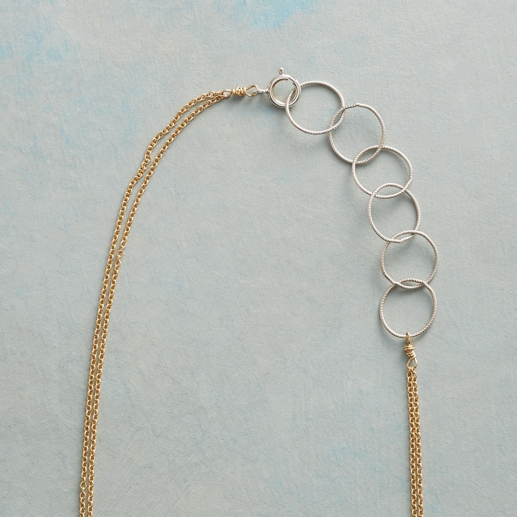 CIRCLE BACK NECKLACE: View 3