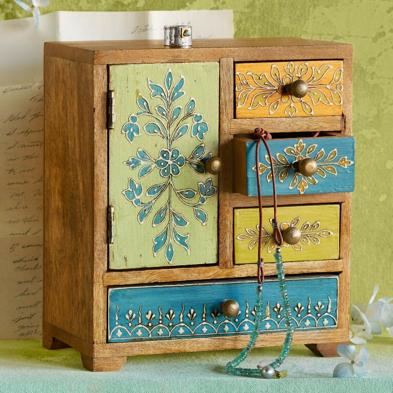ALWAYS IN BLOOM JEWELRY CHEST