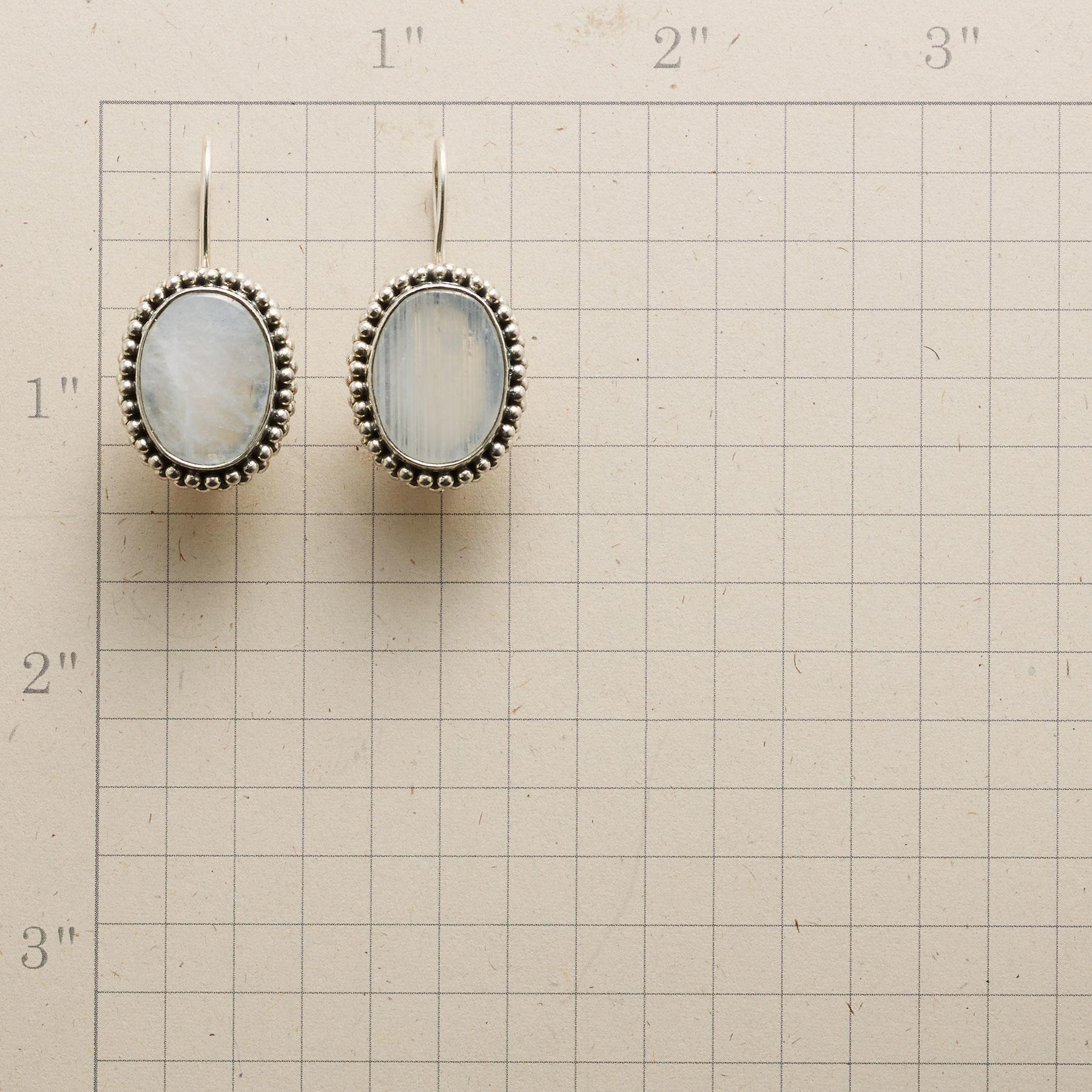 MOONSTONE MADONNA EARRINGS: View 2