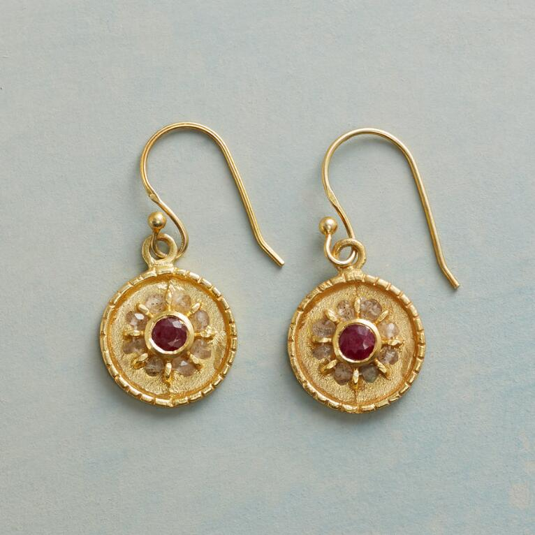 RUBY RADIUS EARRINGS