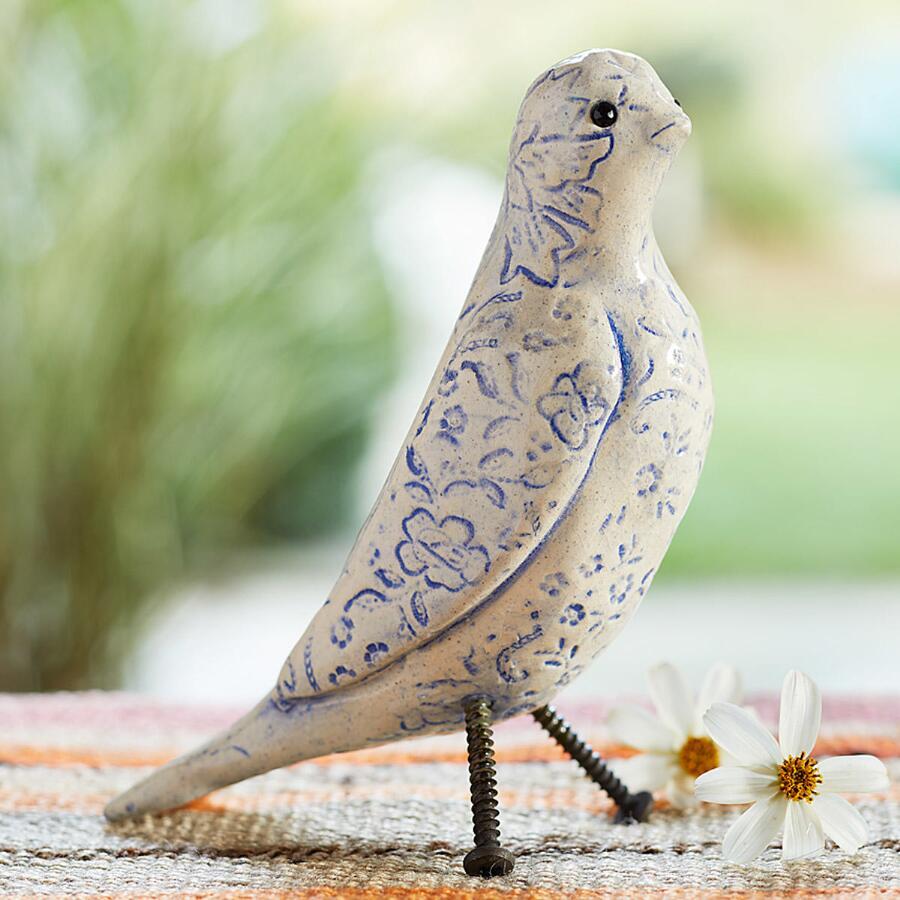 SB VINTAGE LACE BIRD