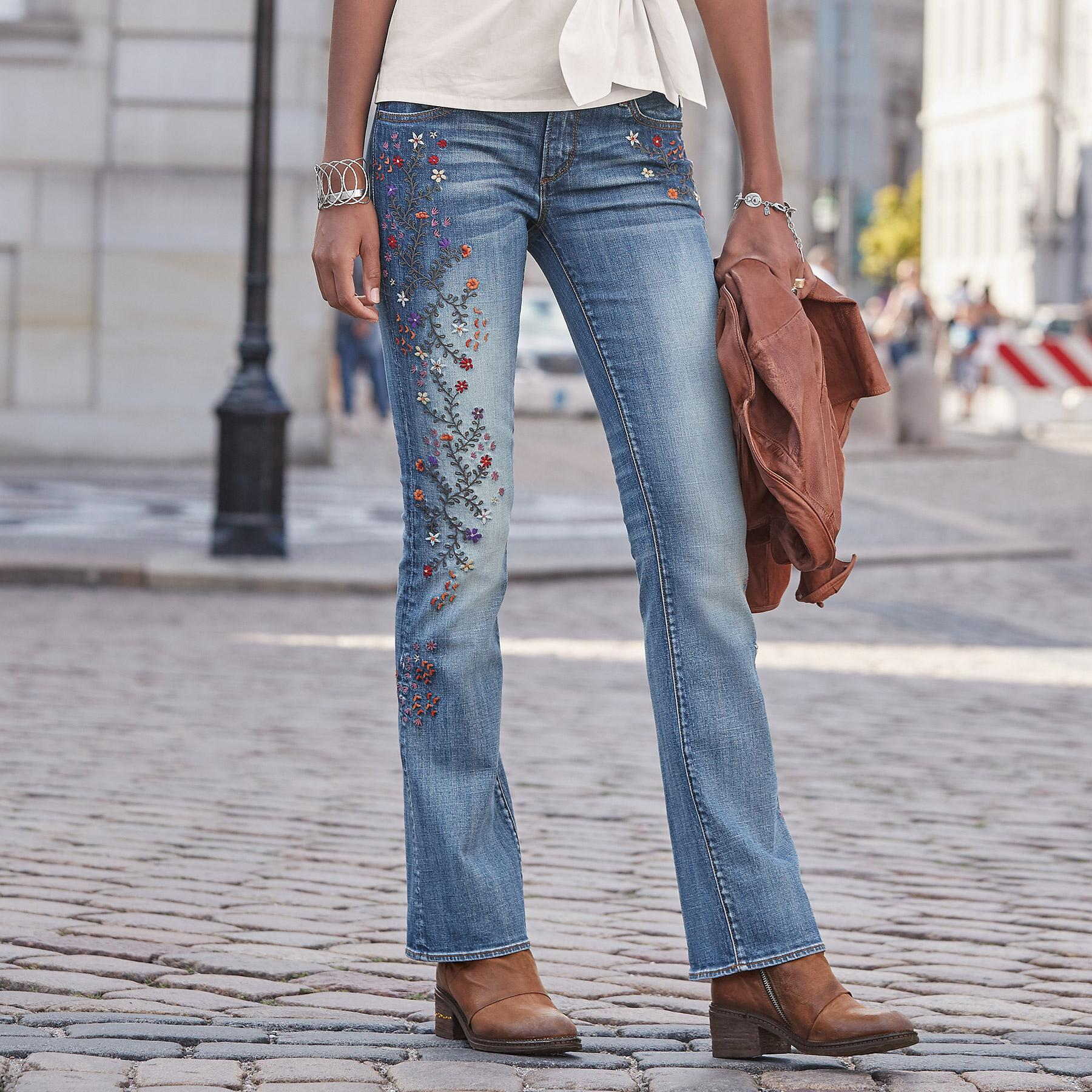 KELLY STRAWBERRY BLOSSOM JEANS BY DRIFTWOOD: View 1
