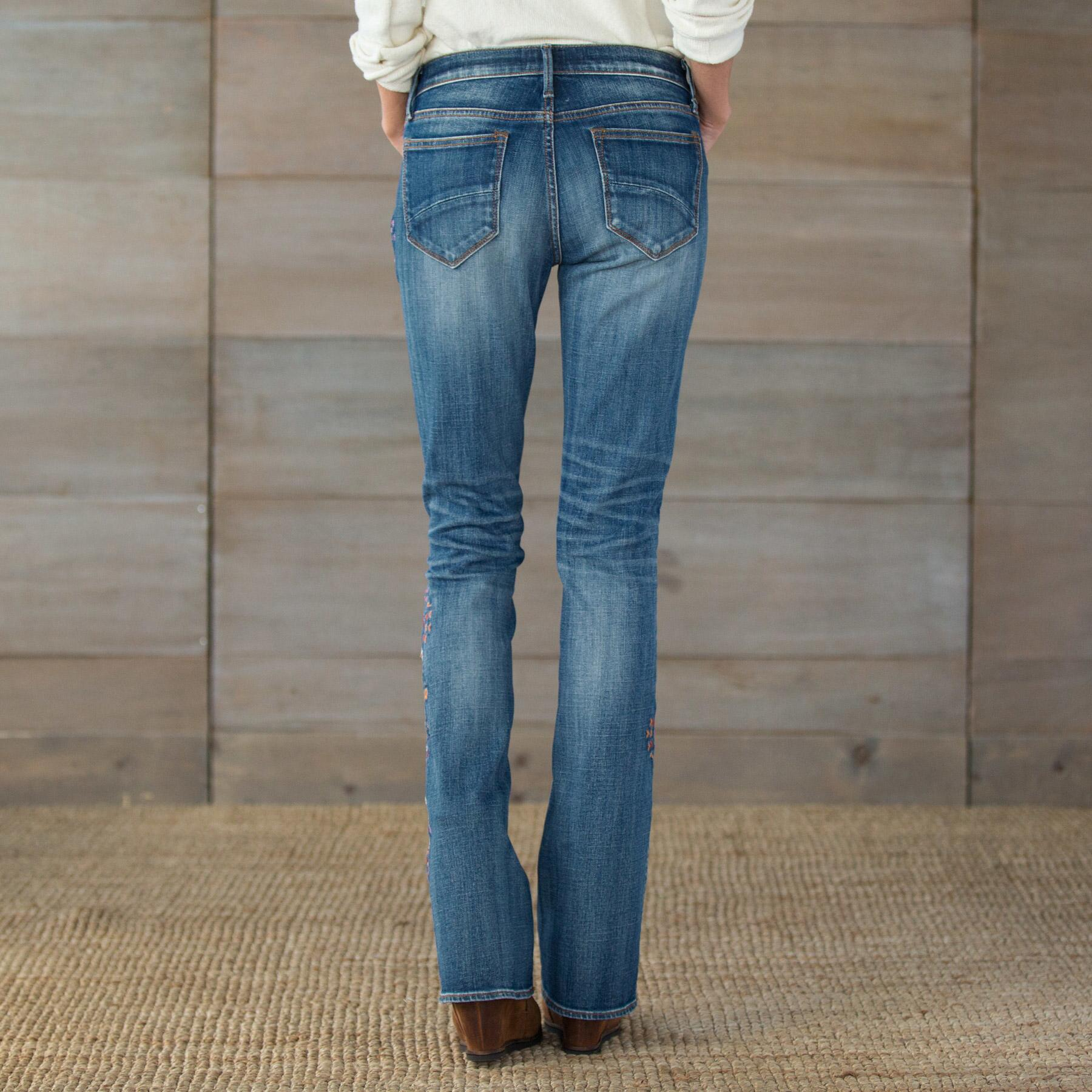 KELLY STRAWBERRY BLOSSOM JEANS BY DRIFTWOOD: View 2
