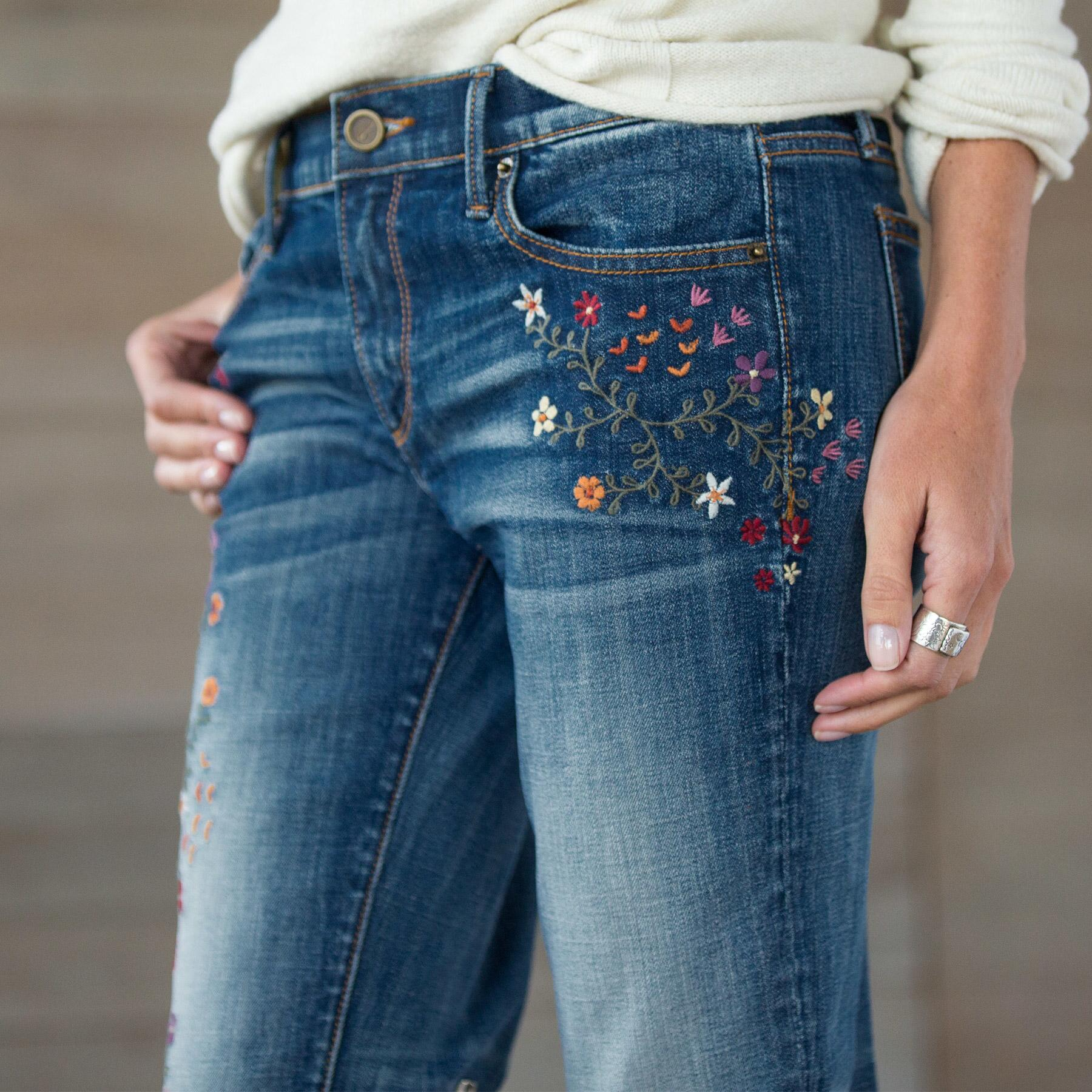 KELLY STRAWBERRY BLOSSOM JEANS BY DRIFTWOOD: View 3