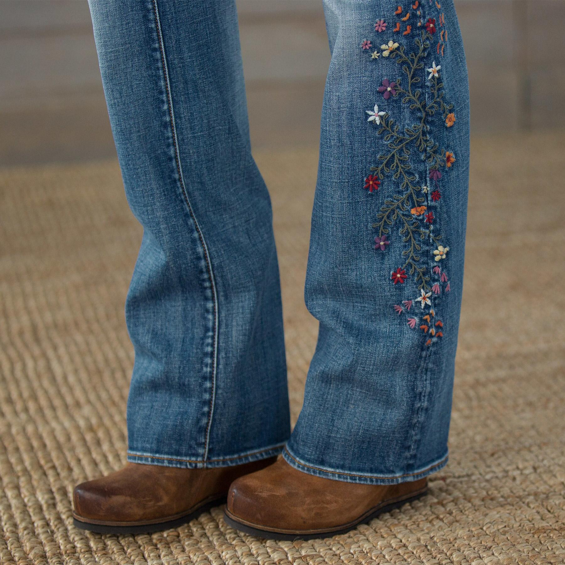 KELLY STRAWBERRY BLOSSOM JEANS BY DRIFTWOOD: View 4