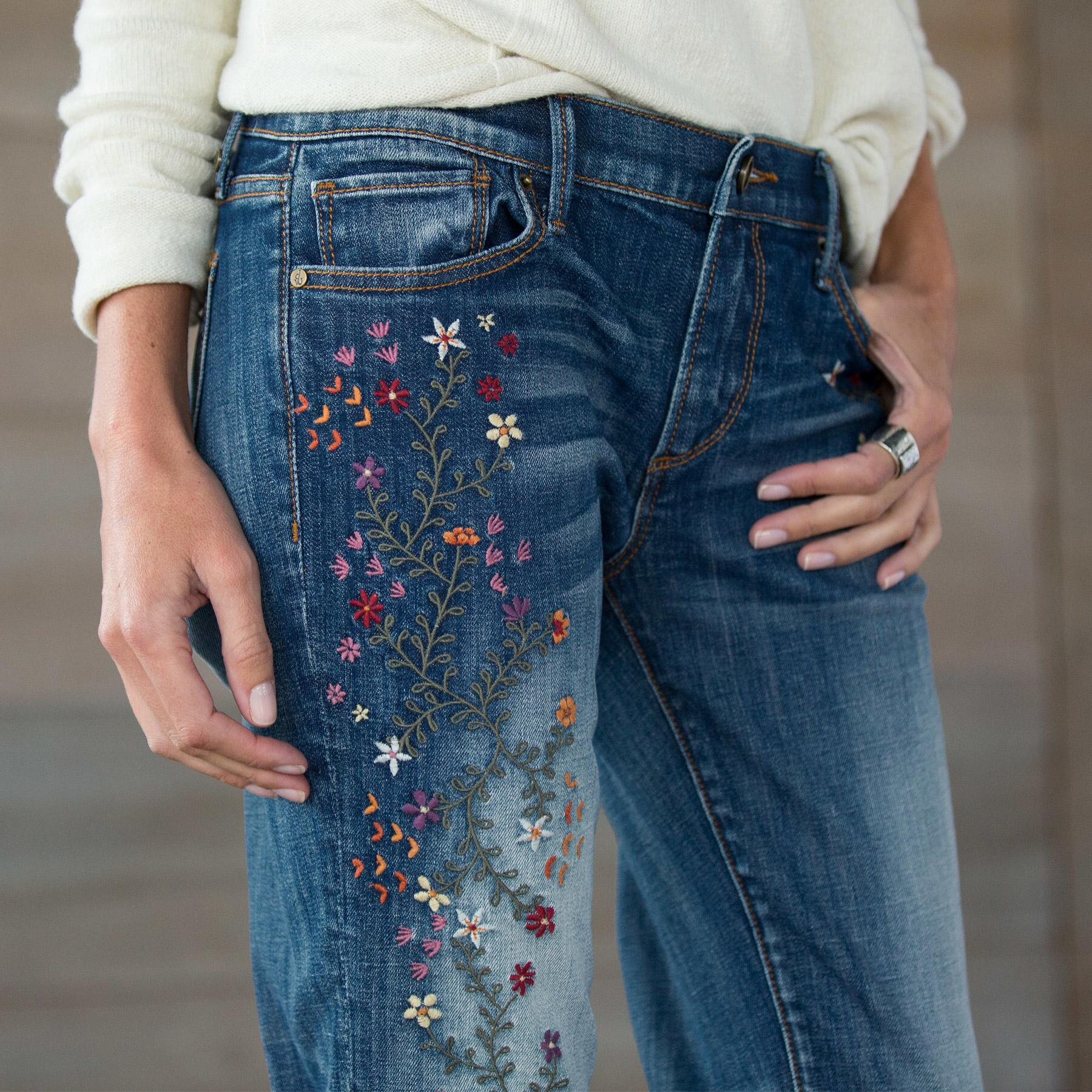 KELLY STRAWBERRY BLOSSOM JEANS BY DRIFTWOOD: View 5