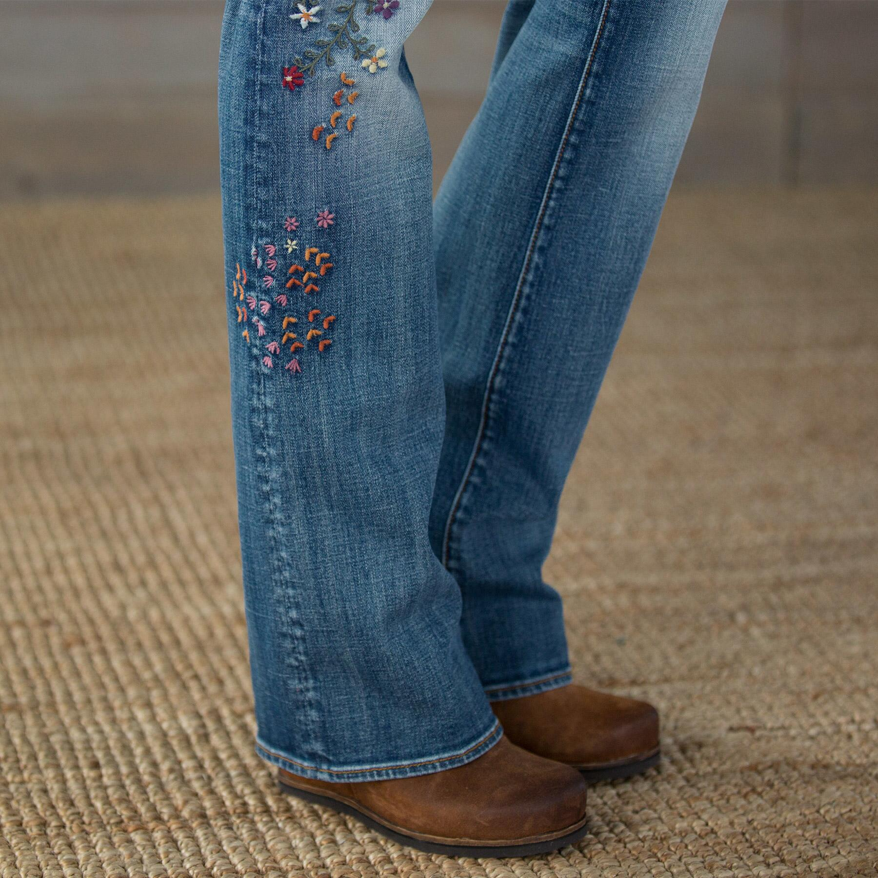 KELLY STRAWBERRY BLOSSOM JEANS BY DRIFTWOOD: View 6