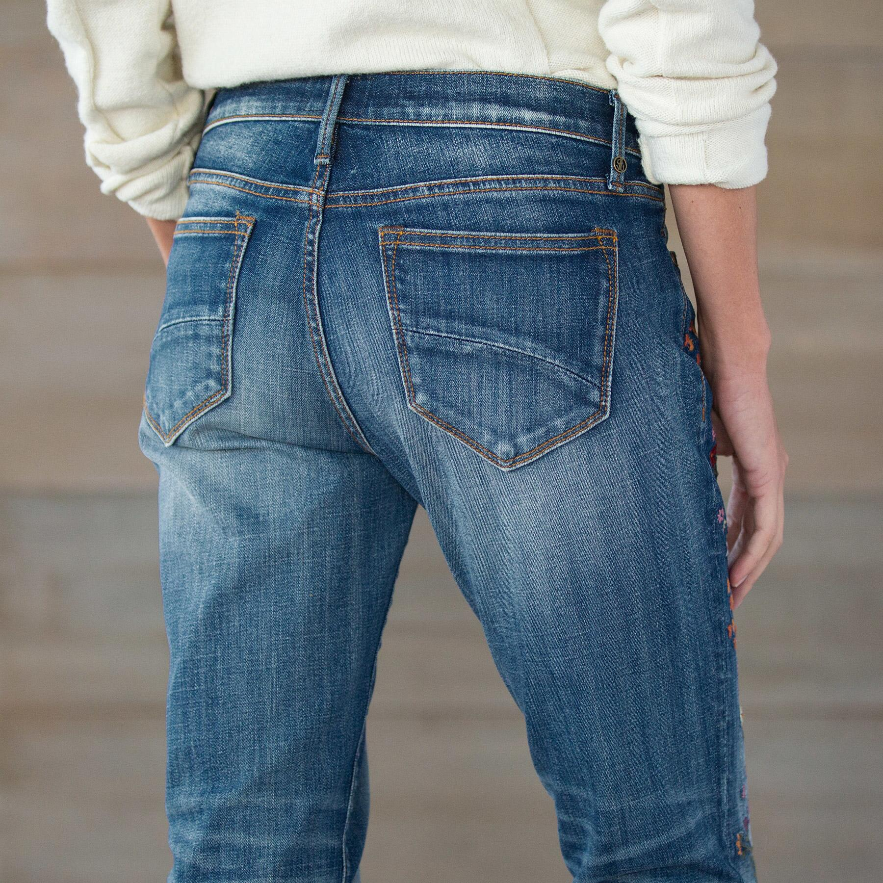 KELLY STRAWBERRY BLOSSOM JEANS BY DRIFTWOOD: View 7