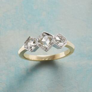 DECO DIAMOND RING