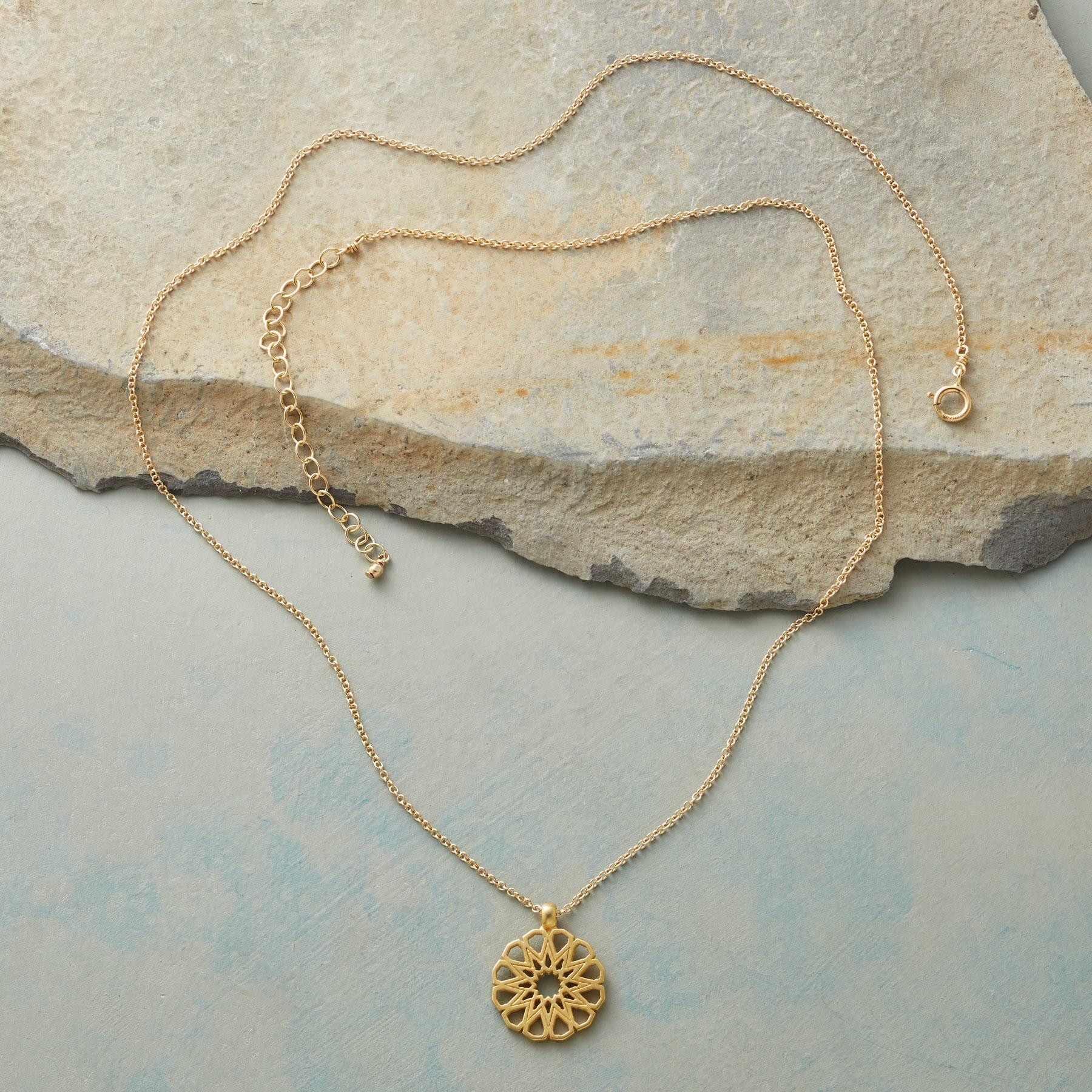MAYA ANGELOU LEGACY GOLD WOMANHOOD NECKLACE: View 2